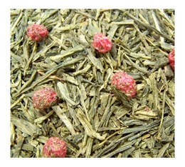 Connivence Green Tea with Berries loose leaf green tea - 100g - Comptoir Français du Thé