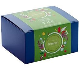 Boîte 20 sachets - Thé vert Kimono - Comptoir Français du thé