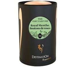 Boite Destination Thé bio Royal Menthe Boutons roses N°24