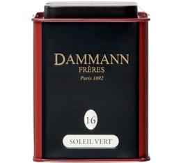Boite Dammann N°16 Thé Soleil Vert