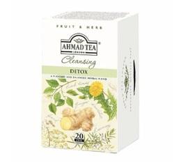 Infusions Detox 20 sachets Ahmad tea