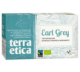Thé noir Earl Grey x20 sachets - Café Michel