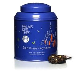 Boite de Thé noir Goût Russe 7 agrumes- 100 g - Palais des Thés