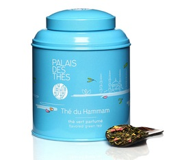 Palais des Thés 'Thé du Hammam' fruity green tea- 100g loose leaf in tin