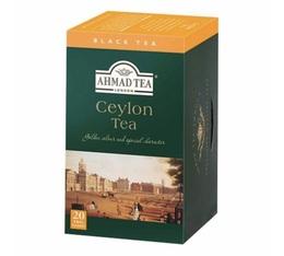 Thé noir Ceylan 20 sachets Ahmad tea