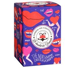 Boîte de 25 sachets Berlingo 'Thé Gourmand Chocolat et Caramel' - Edition Limitée