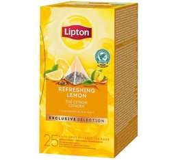 Thé noir Citron - 25 sachets pyramides - Exclusive Selection - Lipton