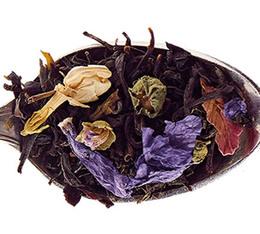 Thé vert et thé noir - Ispahan - 100gr - Comptoir Français du Thé