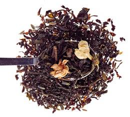 Thé noir et vert en vrac Thé du Tibétain 100g - Comptoir Français du thé