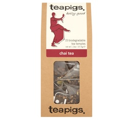 Chai black tea - 15 chiffon tea bags - Teapigs