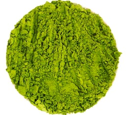 Thé vert Matcha réduit en poudre à partir de thé Gyukuro Comptoir Français du Thé - 40g