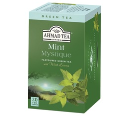 Mint Mystique Green Tea - 20 individually-wrapped tea bags - Ahmad Tea