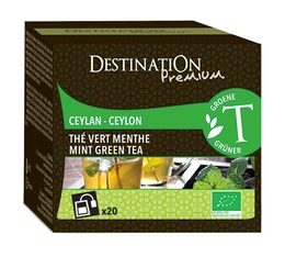 Thé vert bio Menthe Destination x20 sachets