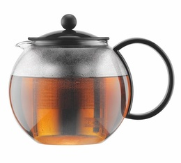Assam teapot with large stainless steel infuser - 1L.
