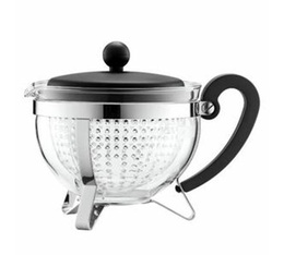 Bodum Chambord glass teapot with acrylic infuser - 1L