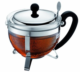 Bodum Chambord 1L glass teapot with removable tea infuser - Bodum