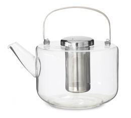 Théière en verre et filtre inox 1,2 L - Viva Scandinavia