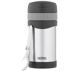 Lunch box isotherme inox TherMax 47 cl avec cuillère - Thermos
