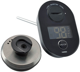 Thermometer for stainless steel Hario Bueno kettle