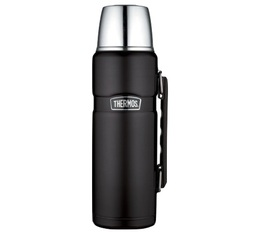 Bouteille isotherme Inox Thermos King 1,2L noir mat - Thermos
