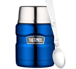 Lunch box isotherme inox Thermos King Bleu électrique 47 cl - Thermos
