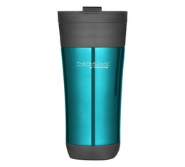 Tumbler Mug Flip Lid Bleu Glacé 42.5cl - Thermocafé by Thermos