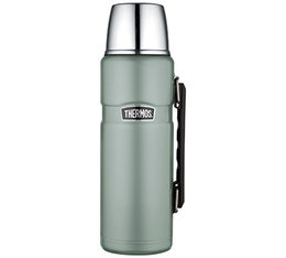 Thermos King Stainless Steel Insulated Flask Duckegg Green - 1.2L