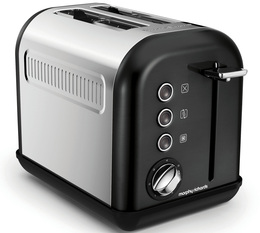 Grille-pain Morphy Richards Accents Refresh 2 tranches Noir