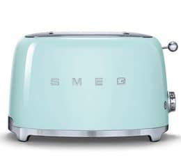 Toaster 2 tranches Années 50 Vert d'eau - SMEG