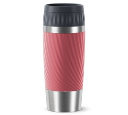 EMSA Travel mug Easy Twist in Coral - 360ml