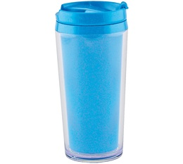 Mug isotherme On the go opaque bleu aqua 35cl Zak Designs