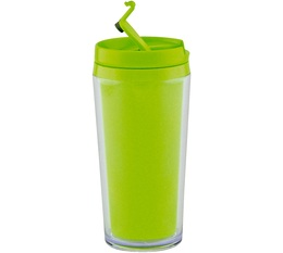 Mug isotherme On the go opaque vert 35cl Zak Designs