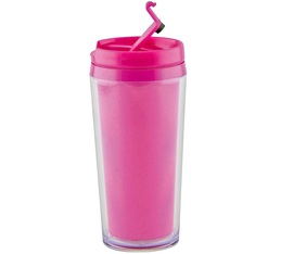 Mug isotherme On the go opaque fuchsia 35cl Zak Designs
