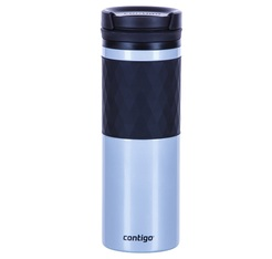 CONTIGO 'Glaze' Silver insulated travel mug with Twistseal lid - 470ml