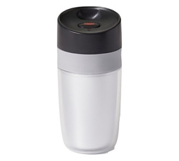 OXO double-wall travel mug in white - 300ml