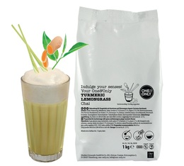 Boisson frappée 'Turmeric Lemongrass Chai ' 1Kg - One and Only