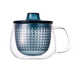 Mug Kinto Unimug + infuseur à thé bleu - 35cl