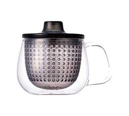 Mug Kinto Unimug + infuseur à thé gris - 35cl
