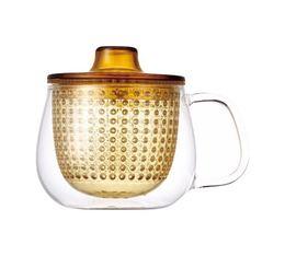 Mug Kinto Unimug + infuseur à thé jaune - 35cl