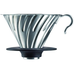 Hario V60 4-cup Coffee Dripper VDG-02 in steel