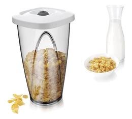 Boite de conservation sous vide blanc 2,3 L - Vacuum Container - Vacu Vin