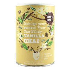 Vanilla Chai' frappé drink 250g - One and Only