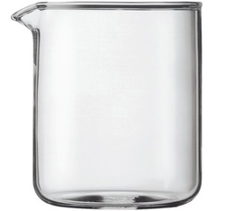 Verre de rechange pour cafetière à piston Bodum 4 tasses ou 50 cl