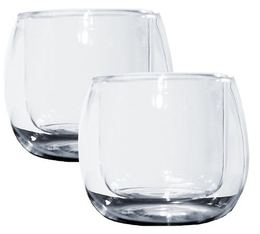 2 verres double paroi Ametista 11cl Thermic Glass - Accademia