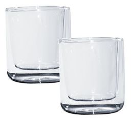 2 verres double paroi Cylindrical 11cl Thermic Glass - Accademia