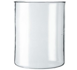 Bodum Spare glass beaker (no pouring spout) for 4-cup French Press