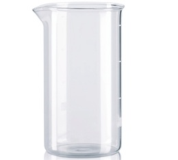 Verre de rechange compatible pour cafetière à piston Bodum 8 tasses - 1L