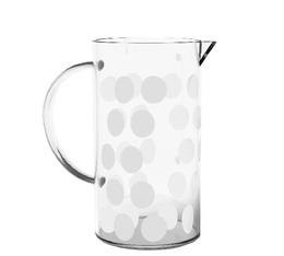 Verre de rechange pour cafetière Zak!designs DOT DOT blanche - 3 tasses