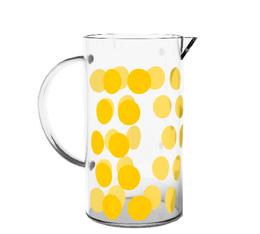 Verre de rechange pour cafetière Zak!designs DOT DOT jaune - 3 tasses