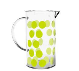 Verre de rechange pour cafetière Zak!designs DOT DOT verte citron - 3 tasses